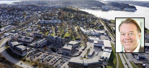 STOR AKTØR: Det gigantiske eiendomsselskapet Hemfosa eier blant andre Statens Park, DSB-bygget i Rambergveien og det som tidligere ble kalt NIT-bygget. Nå har de ansatt Henrik Melder som leder for Hemfosas norske virksomhet.