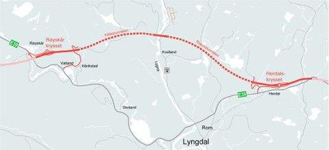 KONTRAKT: Fire leverandører er med videre til tilbudsfasen i forbindelse med ny E39 utbygging i Lyngdal.
