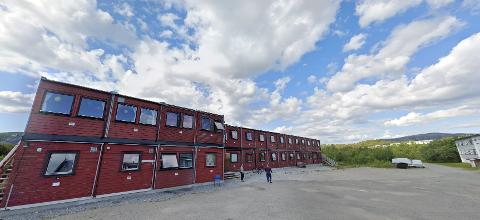 Tidligere mottak: Her på det gamle asylmottaket på Tverlandet, vil man nå se på muligheten for å bygge en rekke boliger. Skjermdump: Google