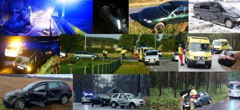 Utforkjøringer og  møteulykker i fleng. Et lite søk i Fredriksstad Blads arkiv på Seppoveien ga dette resultatet - bare siden 2010.