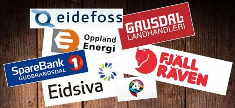 STORE: Eidefoss, Oppland Energi, Gausdal Landhandleri, Sparebank 1 Gudbrandsdal og Lom og Skjåk, Eidsiva Vannkraft, Fjällräven International AB og P4 leverte alle gode resultater økonomisk i året som gikk.