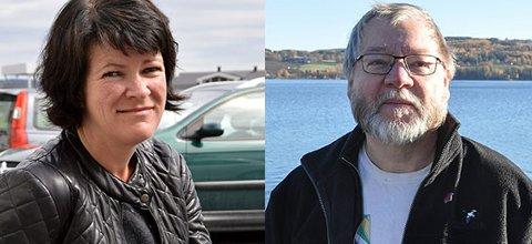 FRAMSNAKKER: Christin Guldahl Madsen (V) trekker fram Finn Olav Rolijordet (Rødt) når hun skal rose en politisk motstander. – Det rørte meg faktisk, svarer Rolijordet.