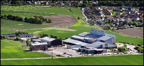 HAFSLUND:  Hafsil holder til i det tidligere smelteverket på Hafslund. Siden dette bildet ble tatt, har blant annet bygningen  hvor ovnene var plassert, blitt revet.