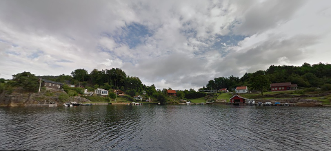 100 METERS BELTET: Det er her, i Ulesund, at Fylkesmannen i Vestfold og Telemark sier nei til dispensasjon fra byggeforbudet i 100 meters beltet.