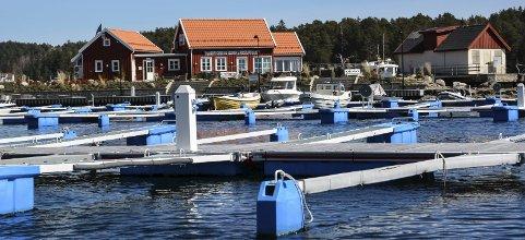 Flere båtplasser: Tvedestrand Vekst AS ønsker utvide havneanlegget på Hagefjordbrygga med opptil 180 båtplasser. Arkivfoto