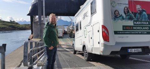 Dit du ikke kommer deg på annen måte enn med båt, må det bli gratis i fremtiden sier stortingsrepresentant i SP Wilfred Nordlund.