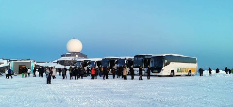 Nordkapplatået er et yndet turistmål. Nå er det innført tre avgiftssoner i området.