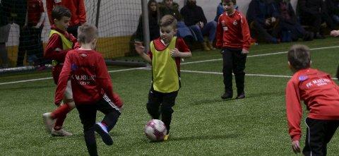 LITEN AKTIVITET: Mange klubber melder om liten eller ingen aktivitet i barnefotball frem til for kort tid siden.