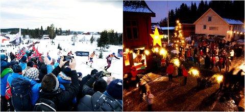 SAMME HELG: Først og andre desember byr Maihaugen på julestemning, samtidig som verdenscuprennene arrangeres i Lillehammer.