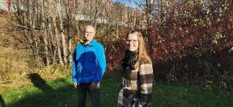 Miljørådgivere i Asker kommune, Bjørn Nordby (t.v.) og Bente Støa.