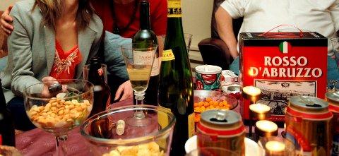 Alkohol og bråk...!