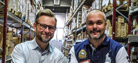 Alexander Lindbeck og Pål Richard Graham.