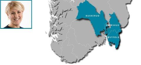 Viken er en sammenslutning av fylkene Østfold, Akershus og Buskerud. Tonje Brenna fra Jessheim (32) fra Jessheim blir fylkesrådsleder og den mektigste politikeren.