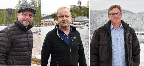 Ordførerne Bengt Halvor Odden (Hjartdal), Grunde W. Knudsen (Kragerø) og Jon Rikard Kleven (Vinje) kan alle vente seg hytteturister til påsken.