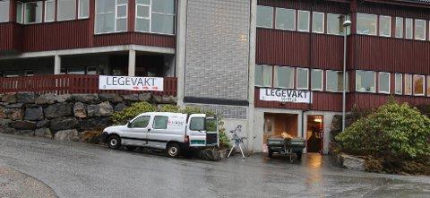Onsdag klokka 16.00 åpner den nye legevakta her i det gamle kommunehuset på Frei.