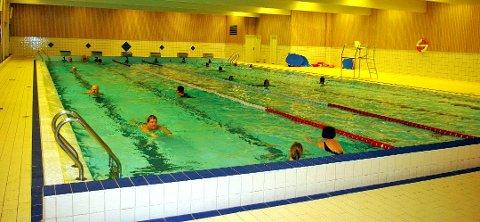 Svømmehallen på Nordbytun.