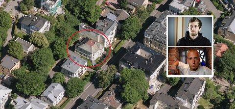 SKAL TOTALRENOVERES: 35 millioner kroner skal dette huset ha kostet Alan Walker og Gunnar Greve. Foro: 1881/NTB