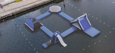 FLÅTE GREIER: Sånn ser den ut, flåten som er bestilt til Egersund sentrum. Den er 22 X 22 meter stor.