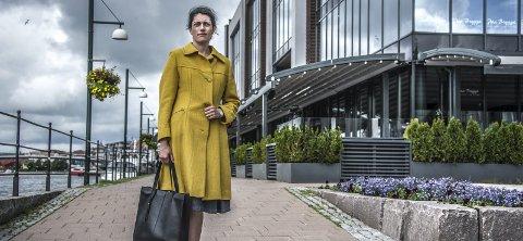 TAR KONTROLL: Racha Maktabi har flyttet tilbake til Fredrikstad, og tatt over ledelsen i familiekonsernet.