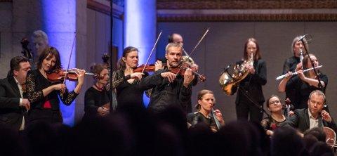 STORFINT BESØK: Det Norske Kammerorkester skal holde konsert i Moss kirke.