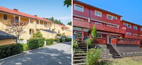 To rekkehus i Søndre Nordstrand ligger ute for under fem millioner kroner.