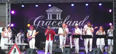 Fra konserten i Bakgården Kaffka 20.juni 2020.