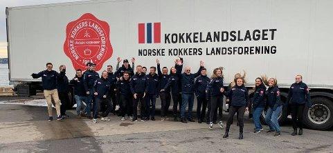 NKL: Norges Kokkers Landsforbund er klare for OL i kokkekunst i Tyskland.