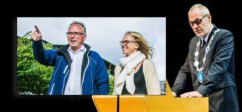 OPP OG NED: Høyre er, ifølge ØPs meningsmåling, nå Larviks største parti. Det er dramatisk for Arbeiderpartiet, som hadde et forsprang på nesten 16 prosentpoeng ved forrige valg.