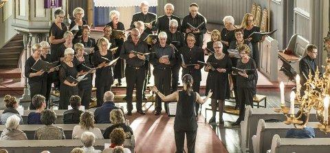KONSERT: Fet kirkekor (bildet) og Løken kammerkor inviterer til konsert hvor de skal sette opp blant annet Johan S. Bachs kantate nr. 80. Konserten er markering av reformasjonsjubileet. foto: privat