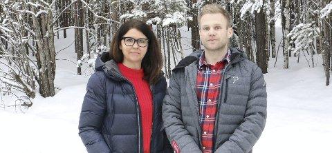 PÅRØRENDE: Berit Prynmo og Bjørn Tore Gregertsen er pårørende til eldre og pleietrengende i Hurum.De har begge fortalt sin historie i RHA den siste tiden. Gregertsen har også skrevet leserinnlegg om saken.
