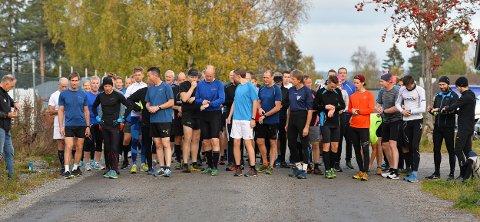 55 LØPERE: Denne uken var det 55 mosjonister som fullførte Torsdagsløpet.