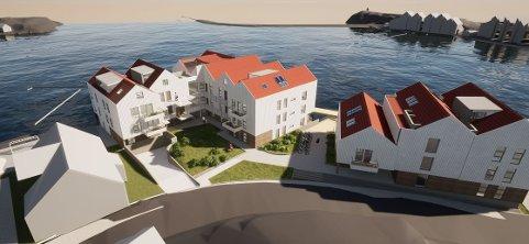 Utbyggingen på Danielsen-tomten i Tananger indre havn.