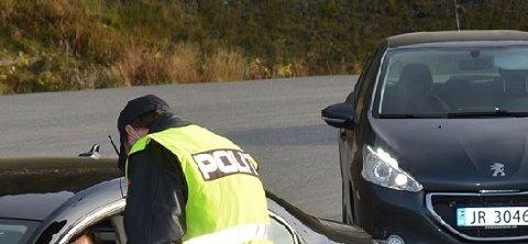 Forelegg: 14 bilister fikk forenkla forelegg for fartsovertredelser på E16 i Begnadalen.