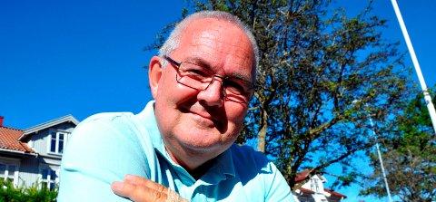 SYKKELBYEN: Ap-politiker Bjarne Johannessen ønsker å se stadig flere syklende innbyggere.