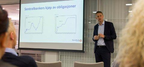 Inge Reinertsen, konserndirektør for økonomi og finans i Sparebank1 SR-Bank.