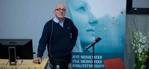 RYSTET: - Jeg er rystet over måten PCI-debatten har pågått på i Nord-Norge. Data fra det nasjonale hjerteinfarkt-registeret har blitt misbrukt i en politisk kampanje, sier den faglige lederen for registeret, professor Kaare Harald Bønaa.