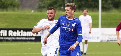 Salgsobjekt: Tobias Lauritsen kan gå i fotsporene til spillere som Thomas Elsebutangen og Stefan Mladenovic, som har blitt solgt fra Pors til eliteserien i løpet av det siste året.
