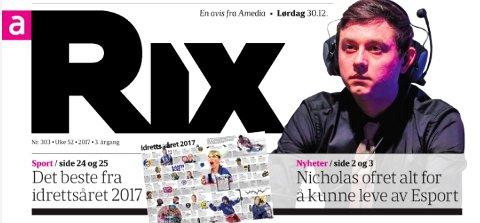 Skjermbilde av RIX sin siste utgave.