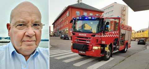 Thomas Wolff tenkte raskt da han våknet av brannalarmen på Thon Hotel Storgata i Kristiansund natt til onsdag. Han sørget for å slokke branntilløpet på kjøkkenet før brannvesenet kom.