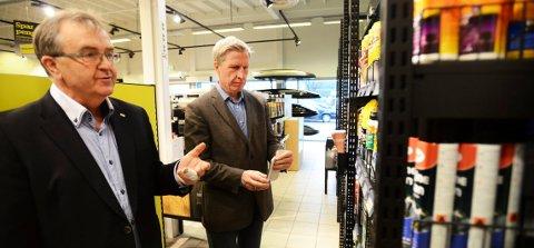 GRÜNDEREN: Selskapet som Kjell Hamnes (t.v.) startet for 17 år siden er nå verdt 350 millioner kroner, og skal bli ledende i Europa. Bildet er fra 2014.