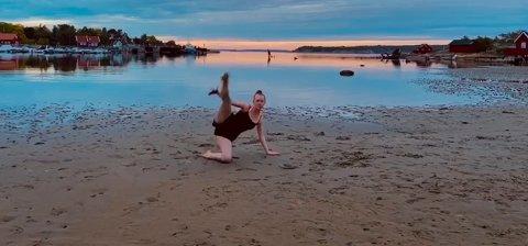 Silje Solberg går i 10. klasse. Med denne dansen har hun også søkt seg til danselinja på Ski VGS fra høsten av.