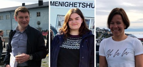Dan Nilsen, Sharon Fjellvang og Sirin Høyen.