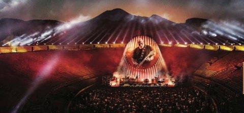 Italia: David Gilmours konsert fra Pompeii i 2016 skal vises på Fredrikstad kino 13. september.