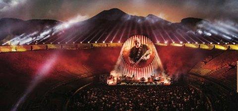 Det blir to forestillinger med David Gilmour fra konserten i Pompei på kino 13. september.