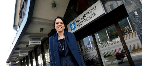 Haugesund 1104 2016 Ny administrerende banksjef i Haugesund Sparebank. Bente Haraldson Syre