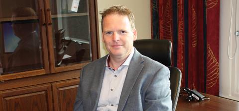 NY RÅDMANN: Georg Smedhus tar 11. mai over som prosjektleder for Indre Østfold kommune, og 1. januar 2020, når Indre Østfold kommune er et faktum, blir han rådmann.