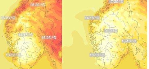 Det blir varierende vær denne helgen.
