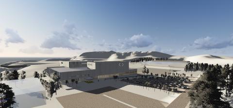 Tromsø kommune har søkt om 55 millioner til Tromsøbadet.