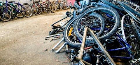 LURTE SELGER: En sykkeleier som ble frastjålet sykkelen - fant den til salgs på finn.no. (Illustrasjonsfoto: Elisabeth Løsnæs)