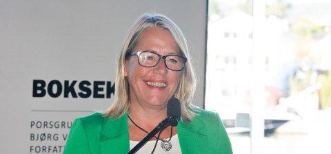 VARAORDFØRER: Anne Kristine Grøtting.